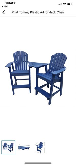 Weatherproof Adirondack Chairs for the dock or pool! for Sale in Kirkland, WA