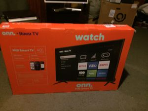 Roku 40 inch TV for Sale in Charlotte, NC