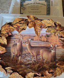 2 Certified Deer Colection Plates for Sale in Magna,  UT