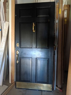 front door and screen to match for Sale in Westwood, MA