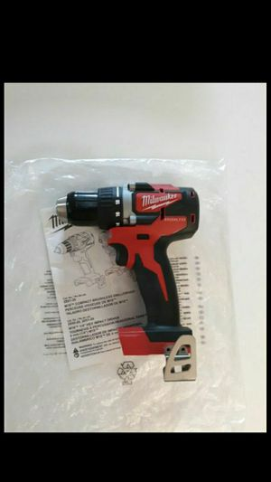 MILWAUKEE M18 BRUSHLESS CORDLESS COMPACT DRILL/DRIVER (TOOL-ONLY) 2801-20. NEW. NUEVO. for Sale in Atlanta, GA
