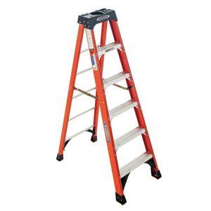 6' Werner fiberglass step ladder for Sale in Seattle, WA