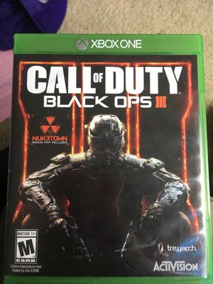Black ops 3 Xbox one for Sale in Snohomish, WA