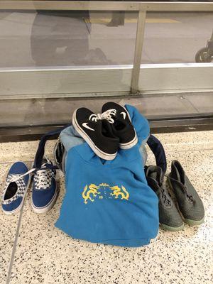 Black Nikes, Blue Vans, Grey Jordans $1000 for all 3) for Sale in Los Angeles, CA