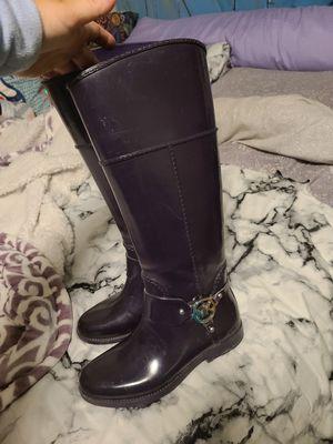 Michael Kors purple rain boots for Sale in Lebanon, OH