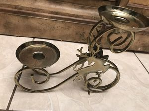 "Christmas Candle Holder 10""Wx9""H. $18 for Sale in Euless, TX"