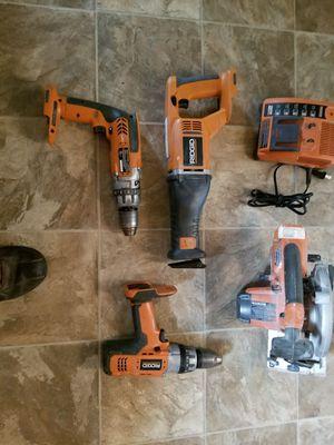 Ridged 18v cordless power tools for Sale in Murray, UT