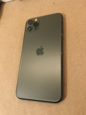 Apple iPhone 11 Pro Max Midnight Green Unlocked for Sale in Long Beach, CA