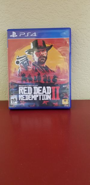 RED REDEMPTION II - PS4, FIRM PRICE, No Trade for Sale in Garden Grove, CA