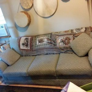 Hide a bed couch for Sale in Evart, MI