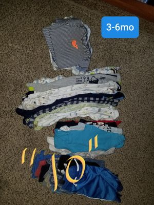 Baby boy CLOTHES LOT for Sale in Canby, OR