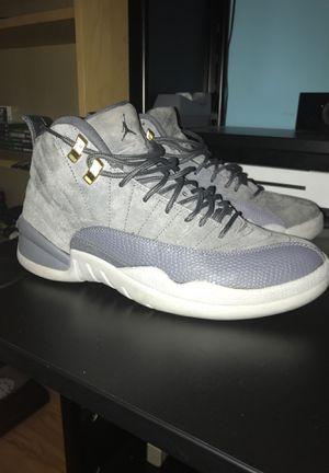 Jordan 12 dark wolf grey size 9 og box for Sale in East Meadow, NY