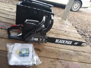 "Brand new black max chainsaw 18"" for Sale in Mocksville, NC"