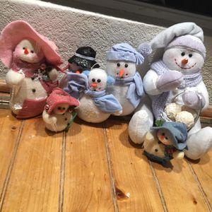 Plush Snowman Family for Sale in Aurora, CO