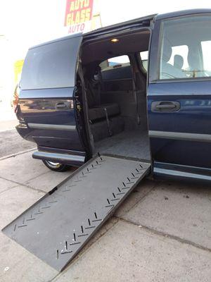 2006 handicap accessible minivan Dodge Grand Caravan 76000 miles power ramp and power door in excellent condition for Sale in Brooklyn, NY