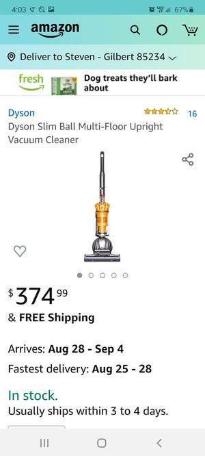 New Dyson Slim Ball Multi-Floor Upright Vacuum Cleaner for Sale in Mesa, AZ