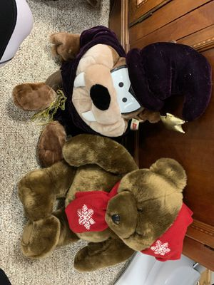 Kids stuffed animals - Christmas bear for Sale in Addison, IL