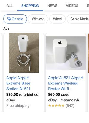 Apple Airport Wireless Router for Sale in WA, US