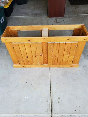 Wood fish tank stand for Sale in Orland Park, IL