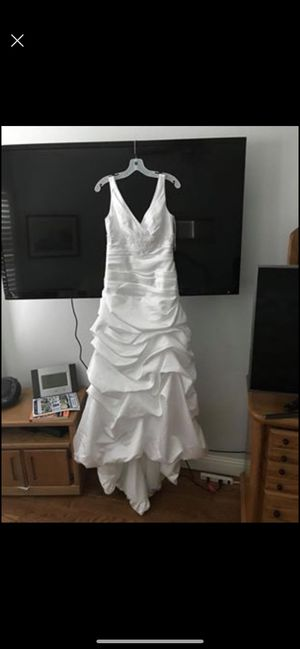 NWT David's Bridal wedding dress. for Sale in Arlington, TX