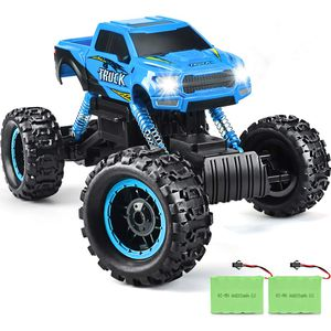 DOUBLE E RC Cars Newest 1: 12 Scale Remote Control Car with Two Rechargeable Batteries & Dual Motors Off Road RC Trucks, High Speed Racing Car for Ki for Sale for sale  Brooklyn, NY