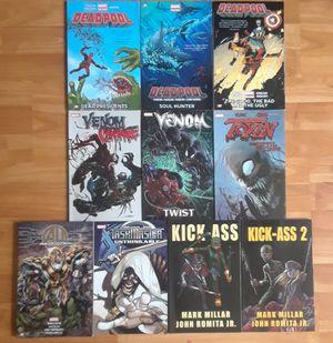 19 marvel TPBs X-Men Deadpool Spider-Man Wolverine Avengers comics graphic novels venom for Sale in Brooklyn, NY