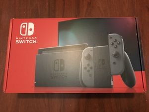 Nintendo Switch (Gray V2) for Sale in Garland, TX