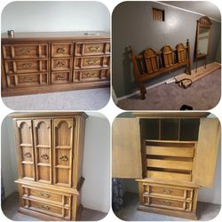 Oak Bedroom Set for Sale in Port Orchard,  WA