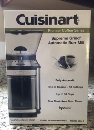 Cuisinart supreme grind automatic burr mill for Sale in Winston-Salem, NC