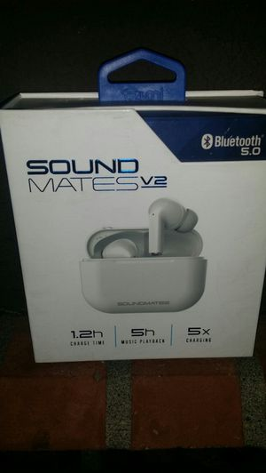 Sound Mates Wireless Stereo Earbuds Bluetooth 5.0 for Sale in Seattle, WA