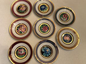 Hamilton Collection, Flower Festivals of Japan Cloisonné Plates for Sale in Silver Spring, MD