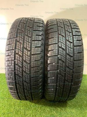 R125 255 50 20 Pirelli Scorpion Zero - 2 used tires 255/50R20 for Sale in Orlando, FL