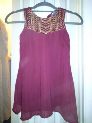 Japna Kids Gold Embroidered Dress for Sale in Orlando, FL