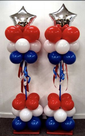 Forth of July Balloons for Sale in La Grange Highlands, IL