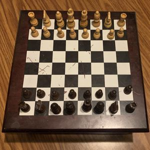 Wooden Chess Multi Games for Sale in Rockdale, IL