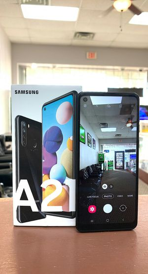 """Samsung Galaxy A21 - Brand New In The Box - Factory Unlocked - 6.5"""" Screen - 4 Cameras for Sale in Arlington, TX"""