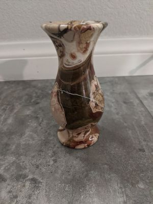 Vintage polished stone vase for Sale in Las Vegas, NV