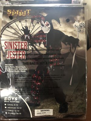 Sinister Jester kids costume for Sale in Kissimmee, FL