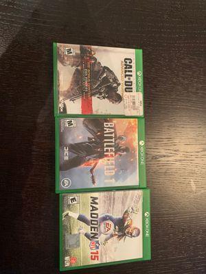 Xbox one games for Sale in Miami Beach, FL