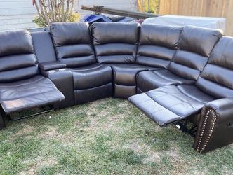Leather Sectional for Sale in Norwalk,  CA