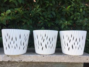 3 BRAND NEW Small Flower Pots for Sale in Vista, CA