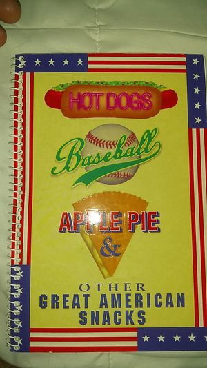 Baseballs and Apple pie recipe book for Sale in Eau Claire, WI