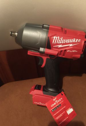 """Milwaukee 1/2"""" fuel one key high torque impact wrench for Sale in Silver Spring, MD"""