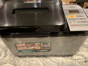 Zojirushi BB-PAC20 Virtuoso Bread Maker(almost new) for Sale in Secaucus, NJ