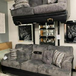 SPECIAL] Millingar Smoke Living Room Set(LOVESEAT AND SOFA) 🤟💢 byAshley for Sale in Greenbelt,  MD