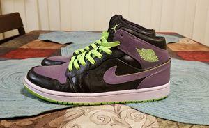 """2012 Nike Air Jordan 1 Retro Mid """"Joker"""" Size 10.5 for Sale in Littleton, CO"""