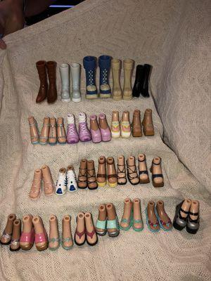 25 pairs of Bratz shoes for Sale in Hemet, CA