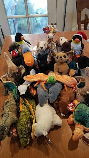 Ty Beanie Babies #B-NEW $2 each for Sale in Campbell, CA