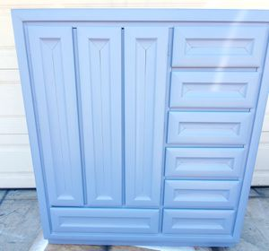 Armoire chest of drawers dresser for Sale in DEVORE HGHTS, CA