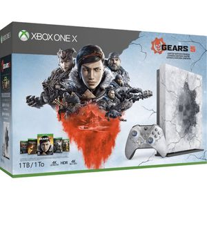 XBOX One X - 1TB Gears 5 Bundle & Xbox Live Gold($380 firm) for Sale in Glendale, AZ